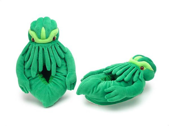 Cthulhu Slippers