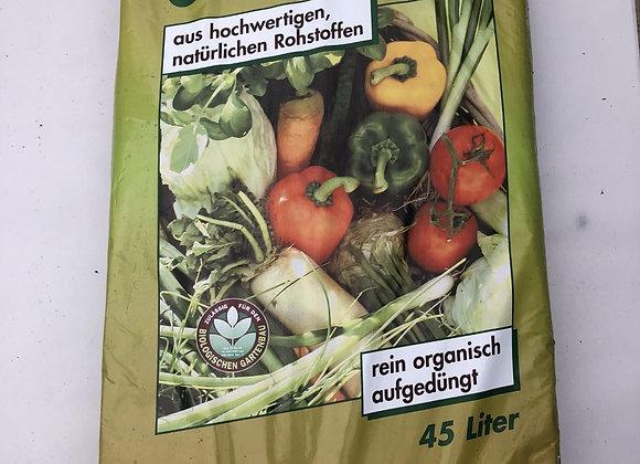 BIO Kräuter und Gemüseerde