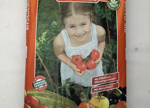 BIO Tomaten und Gemüseerde