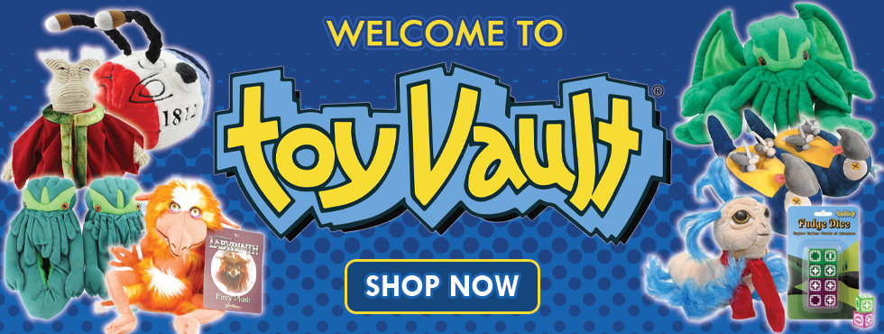 Welcome To Toy Vault Shop Now