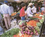 Bazaar.(Market).