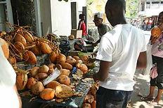 Coconut merchants.