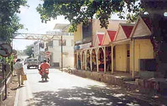 Street of Port Mathurin.
