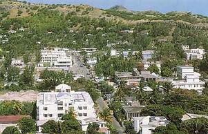 Port Mathurin, the capital.