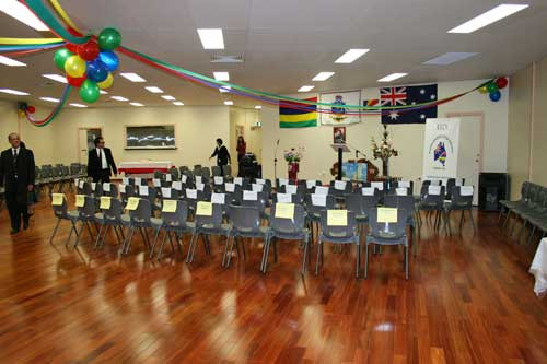 Clubhouse Inauguration. July 2010.