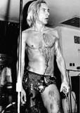 Iggy Pop: jorrando sangue de propósito em show do The Stooges em 1973