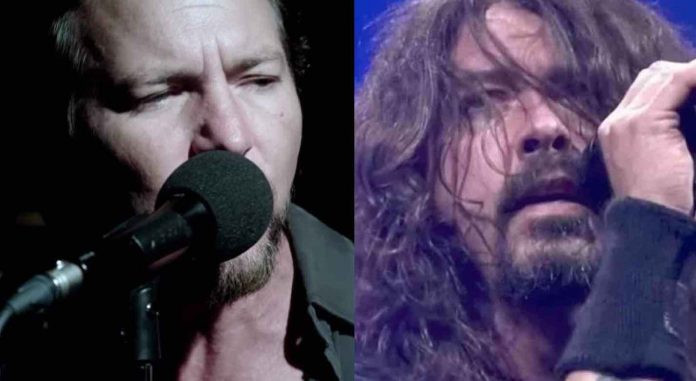 Foo Fighters, Pearl Jam