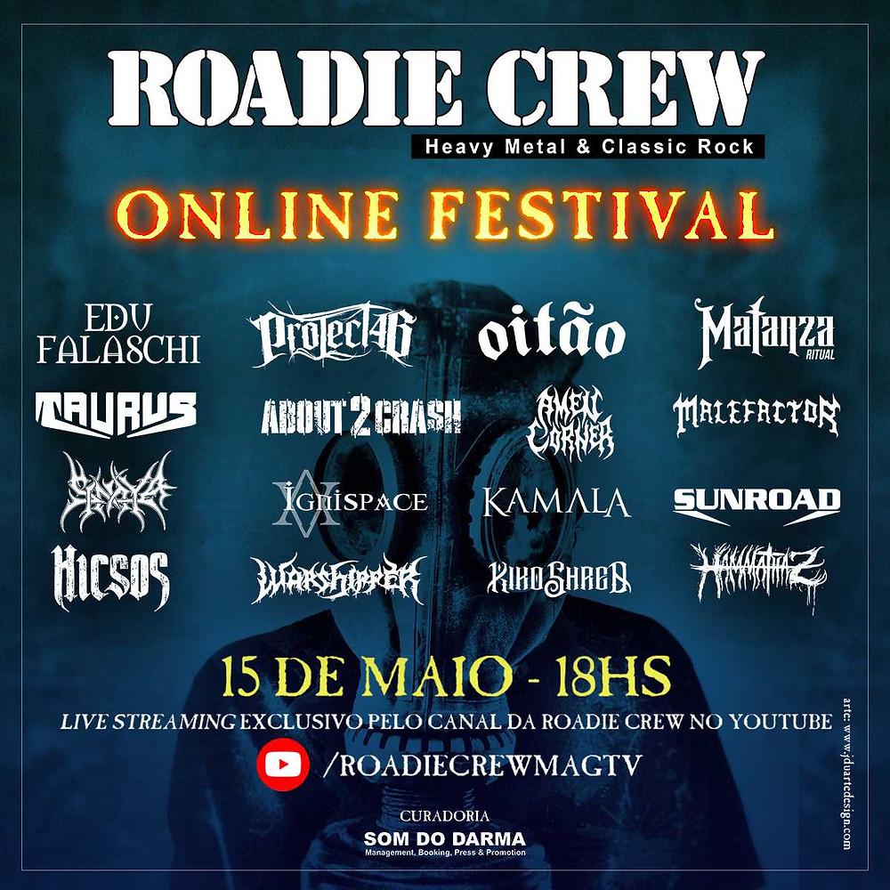 Roadie Crew Online Festival