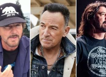 Bruce Springsteen: em conversa com Eddie Vedder e Dave Grohl