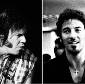 Neil Young: quando fez cover de Bob Dylan junto com Bruce Springsteen
