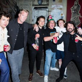 The Chats: quando Josh Homme e Dave Grohl foram ao show da banda
