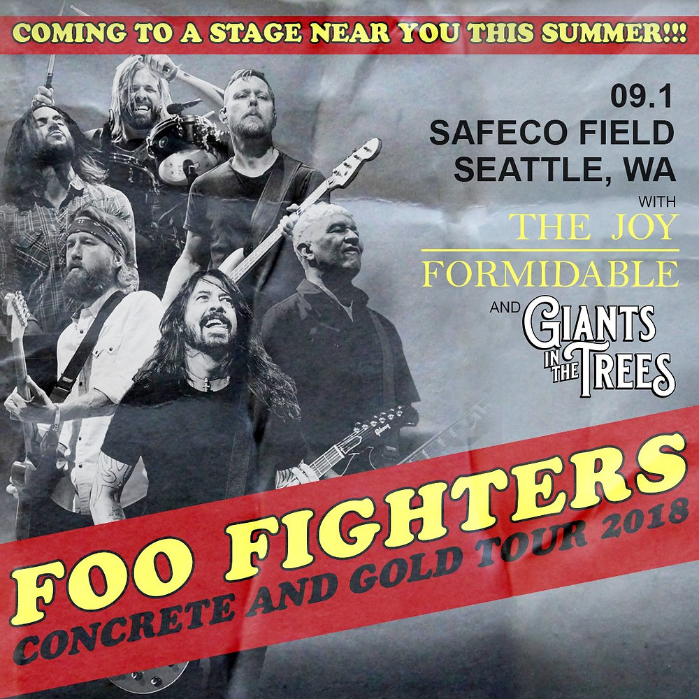 Foo Fighters, Giants in The Trees