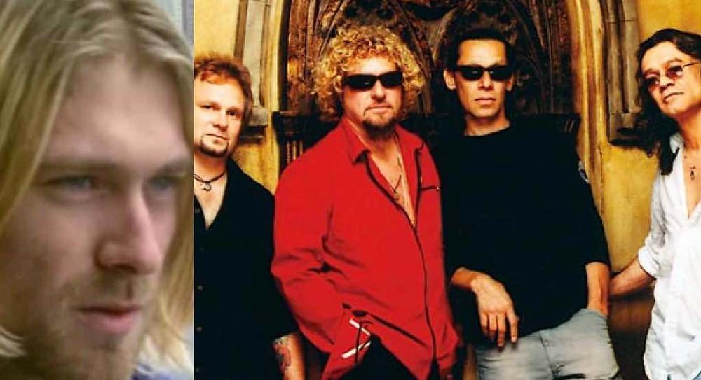 Nirvana, Van Halen, Heart