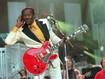 """Chuck Berry: quando apresentou a música """"Johnny B. Goode"""" no Hall of Fame em 1995"""