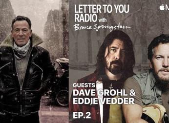 Bruce Springsteen: conversando sobre caminho mainstream com Eddie Vedder