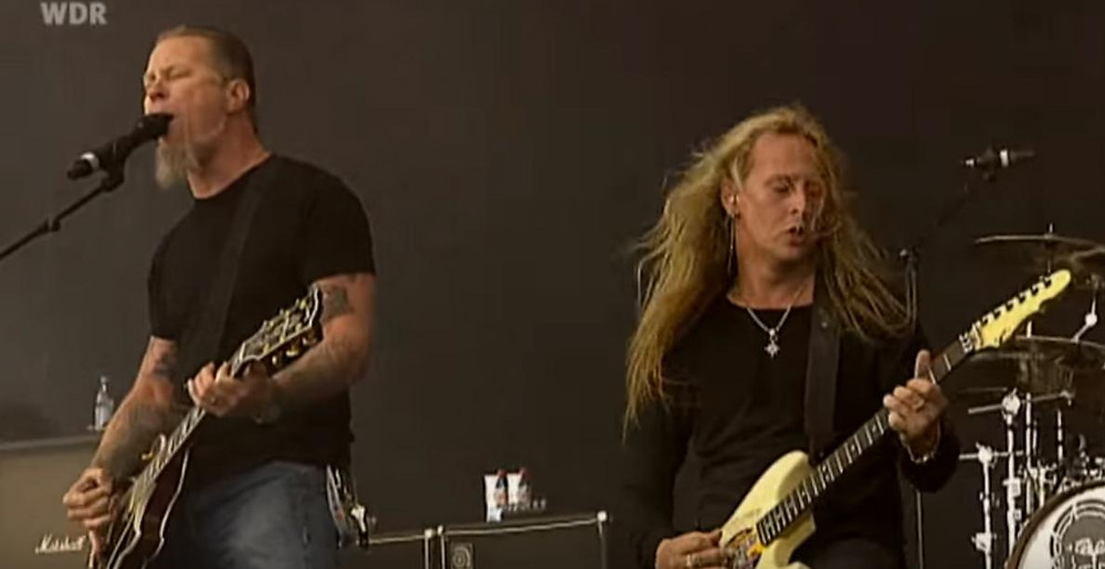 Alice in Chains, Metallica