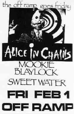 Alice in Chains, Pearl Jam