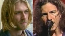 """Eddie Vedder: perguntado sobre a suposta """"rivalidade"""" com Kurt Cobain nos anos 90"""
