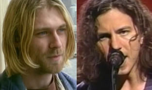 """Courtney Love: """"Eddie Vedder tinha melhor infraestrutura emocional do que Kurt"""""""