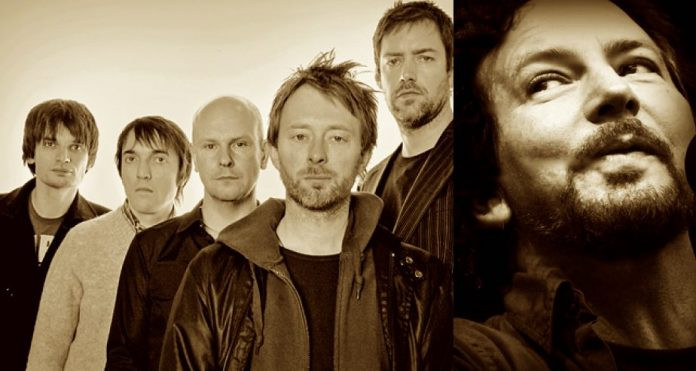 Radiohead, Pearl Jam