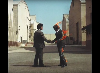 "Pink Floyd: curiosidades sobre a capa do álbum ""Wish You Were Here"""