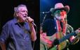"""Robert Plant: """"Willie Nelson nos dava maconha em seu ônibus de turnê"""""""