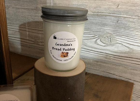 Grandmas Bread Pudding 8oz Scented Candle