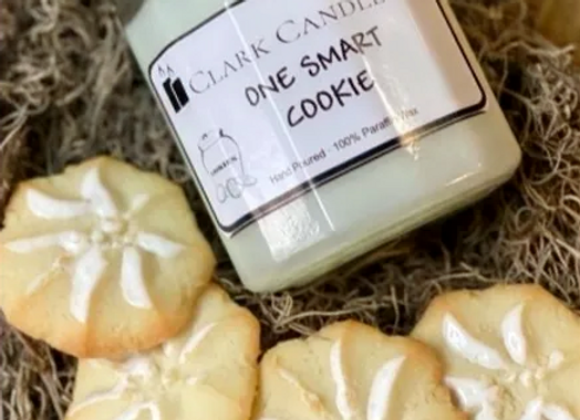 One Smart Cookie 8oz. Scented Candle