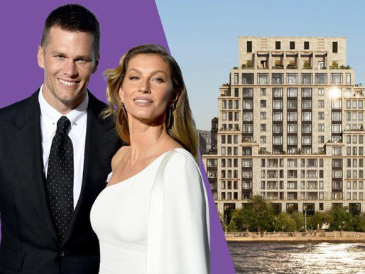 Tom Brady and Gisele Bündchen get $37M for Tribeca home