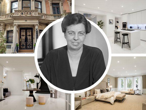 Eleanor Roosevelt townhouse back on market at $16M