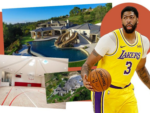 Lakers' Anthony Davis sells mansion for $1M less than he paid