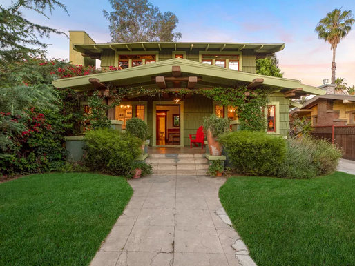 Koreatown Craftsman With Lots of Hand-Carved Woodwork Asks $1.5M