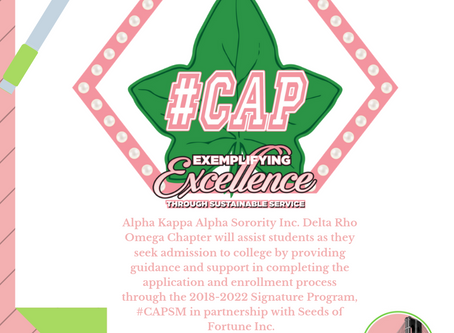 Seeds of Fortune Inc. Forms Partnership with Alpha Kappa Alpha Sorority Inc. Delta Rho Omega Chapter
