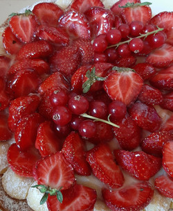 Tarte Fruits~Rouges | #CitronMeringuéChâtillon