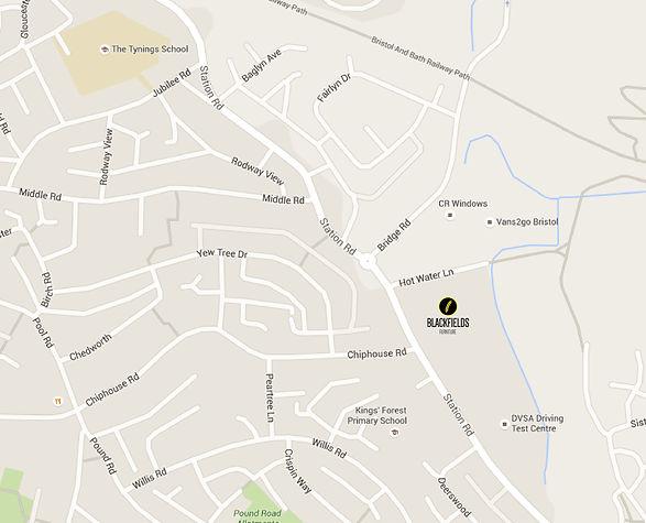 Blackfields Furniture Location