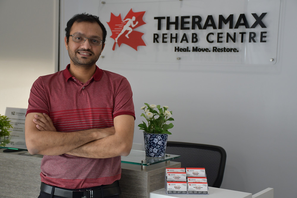 physiotherapy treatment with theramax rehab centre
