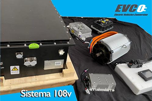 Sistema 108v con baterias de Litio NCM
