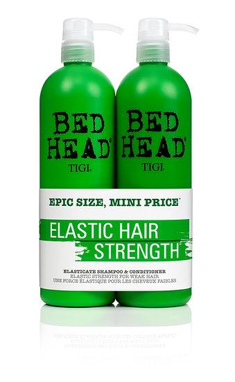 Elactic hair strength shampoo + conditionner 750ml