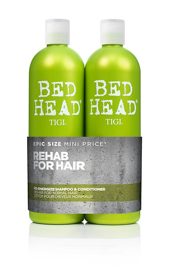 Re-energize shampoo + conditionner 750ml