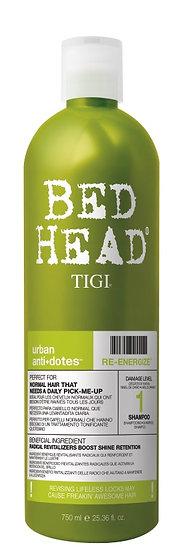 Urban anti+dotes Re-Energize shampoo 750 ml