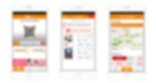 셀픽 모바일 앱 예시 화면