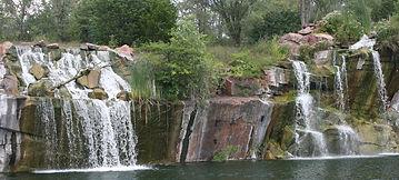 Montello's Waterfalls