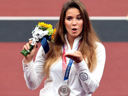 INCREDIBLE: Olympian Maria Andrejczyk Auctions Silver Medal to Help Fund Baby's Heart Surgery