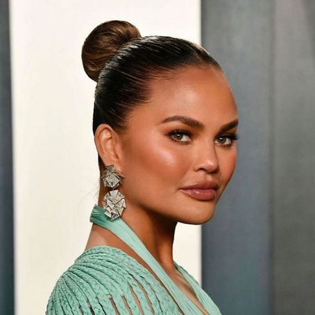 "Model Chrissy Teigen Reveals She Is ""Building Herself Back Up"" After Dealing With ""Tough Depression"""