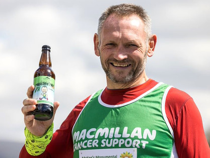 Incredible: Gary Mckee, Cumbrian Man Completes 110 Marathons in 110 Days Challenge