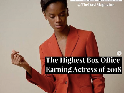 Black Panther Actress Letitia Wright Named As Highest Box Office Earning Actress of 2018