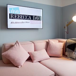 The Rebecca Davi Show setting