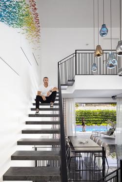 מדרגות מרחפות שלומי לוין