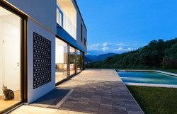 Cubism m pool wall