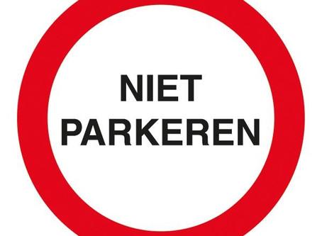 Beperkt parkeren i.v.m. Triathlon